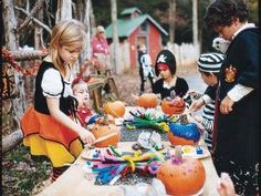 Halloween party ideas for kids : when you host a creepy party for the kids