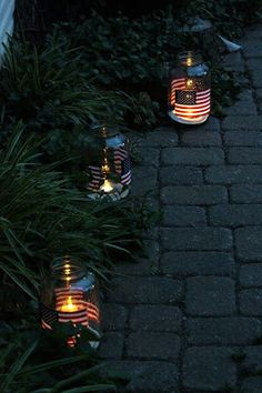 Sweet Something Designs: Easy Hurricanes. Great for July 4th or patriotic event!!!