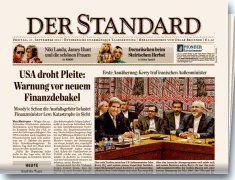 """Die österreichische Tageszeitung """"DER STANDARD"""", berichtet anlässlich der """"Österreichische Medientage"""" über malerdeck als perfektes Social Media Beispiel. Klick zum Bericht."""