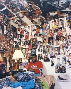 The Bedrooms of US Teenagers in the Mid-90s