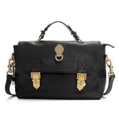 Fashion Mulberry Msb 29 Black Detachable Leather Bags Outlet 144 42