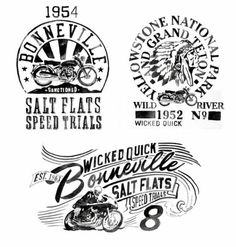 Cafe racer graphics