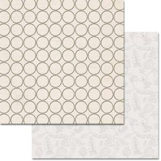 Teresa Collins Designs - Urban Market Collection - 12 x 12 Double Sided Paper with Glitter Accents - Circles
