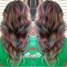 Catch the rainbow  Love this client-friendly rainbow highlight design by…
