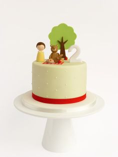 Peaceofcake ♥ Dolce Design: Torta Picnic • Piquenique Bolo