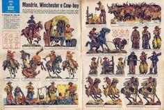 Corrierino e Giornalino: Mandrie, Winchester e Cow-boy