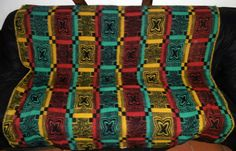 vintage blankets - dekens - wolldecken new in our collection July 2017