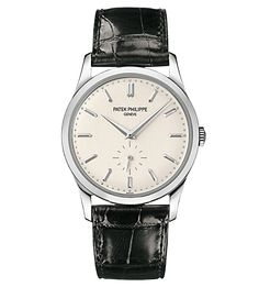 classic, clean and simple     PATEK PHILIPPE SA - REF. 5196G-001