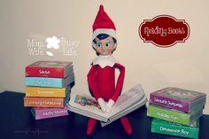 Elf on the Shelf Reading Books Idea