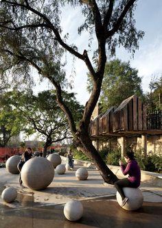Bicentennial Children's Park, Santiago, Chile - design Alejandro Aravena Pritzker Prize 2016