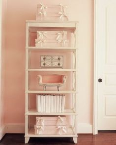 perfectly pink etagere