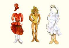 zelda paper doll | Zelda Fitzgerald's Paper Dolls Goldielocks | Paper Dolls