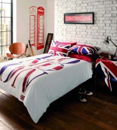 1000 images about london bedroom on pinterest union for British themed bedroom ideas