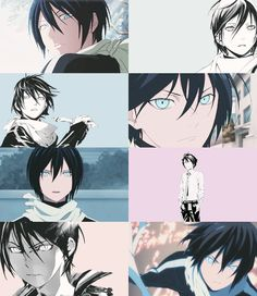 I'm in love with Yato's eyes.