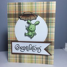 Congratulations Greeting Card (free shipping) by JeisPaper on Etsy