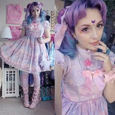 Throwback to over two years ago. Still one of my favorite cords though. Gyaru Fashion, Pastel Fashion, Harajuku Fashion, Kawaii Fashion, Lolita Fashion, Cute Fashion, Asian Fashion, Visual Kei, Lolita Makeup