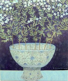 Leonard McComb RA's JASMINE FLOWERS PROVENCE, TURKISH BOWL V&A at the RA Summer Exhibition 2015