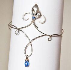 Wedding Upper arm bracelet cuff armband arm band armlet wire