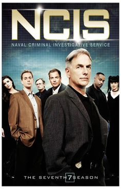 NCIS Season 7 Cast Mark Harmon TV Show Poster 11x17 – BananaRoad