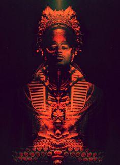 I <3 the Effect of this Image. Egyptian/Tibetan Theme