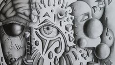 Automatic Drawing, The Creator, Arts And Crafts, Drawings, Sketches, Art And Craft, Drawing, Portrait, Draw
