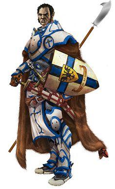 m Half Orc Paladin Plate Armor Shield Sword Staff Cloak Fantasy Rpg Games, Fantasy Races, Fantasy Art, Character Creation, Character Concept, Character Art, Character Design, Dnd Characters, Fantasy Characters