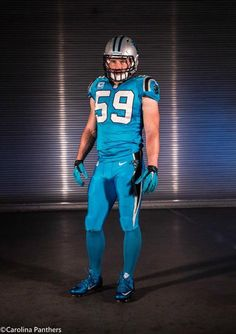 4bbfb581847 The Dallas Cowboys and Carolina Panthers have both unveiled their Color  Rush uniforms for their Thanksgiving clash