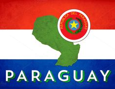 Paraguay poster   Great for Spanish classrooms Showcase the crest, colors and flags of Spanish-speaking countries with these posters, available in 8.5 x 11, 11 x 17 and other sizes by request (hi@natalievenuto.com)