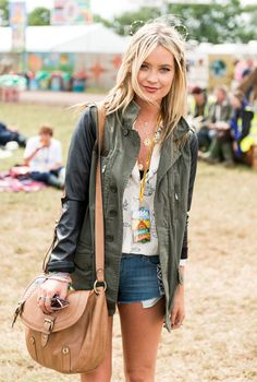 10 celebrities who are giving us intense hair envy at British music festivals this summer // Laura Whitmore