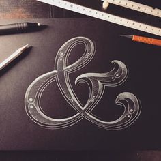 Just love the ampersand!