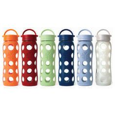 I was so excited to find these lovely glass water bottles. Now I can drink out of glass anywhere. $20.95 #mightynest
