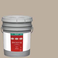 Glidden Premium 5-gal. #HDGWN27 Dry Goods Neutral Semi-Gloss Latex Interior Paint with Primer
