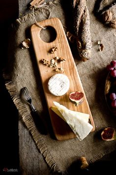 Handcrafted serving board