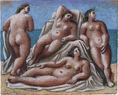 'Groupe de Nus Féminins [1921 Pablo Picasso].