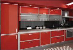 Muebles de cocina colores melamina
