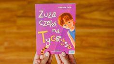 """""""Zuza czeka na Tygrysa"""" to propozycja dla dzieci, które chcą zacząć samodzielnie czytać książki (fot. Ewelina Zielińska)"""