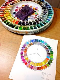 """Whenever people see my spinning 85 well watercolor palette they seem to gasp in delight and ask """"Where ever did you find such a thing?"""" Robax Engineering is the answer and you can check them out HERE. I have had mine for years now and must [...]"""