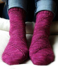 February Anastasia by (free pattern from MintyFresh) crochet socks Crochet Socks, Knitted Slippers, Knit Or Crochet, Knitting Socks, Knit Socks, Knitting Patterns Free, Free Knitting, Free Pattern, How To Purl Knit