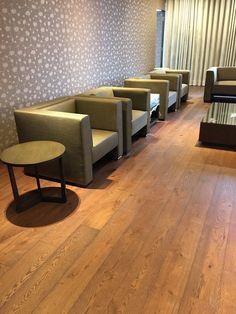 "The best company deserved the best floor. Ua Floors Parisian 7-1/2"" European White Oak Hardwood Flooring   Thoughts on #Wood #Flooring."