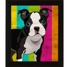 Colorful Dog I, Giclee