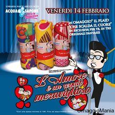 Plaid omaggio da Acqua&Sapone per San Valentino - http://www.omaggiomania.com/omaggi-con-acquisto/plaid-omaggio-da-acquasapone-per-san-valentino/