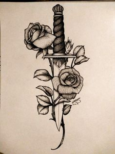 Knife Rose . Lower Back Tattoos For Guys | Lower Back Tattoos 2017 | Tramp Stamp Tattoos Meaning. #instagram #Samoan tattoos. Read more info by clicking the link on the image. #gift tattoo Back Tattoos For Guys, Back Tattoo Women, Lower Back Tattoos, Tattoos For Women, Knife And Rose Tattoo, Knife Tattoo, Tattoos Geometric, Tribal Tattoos, Maori Tattoos