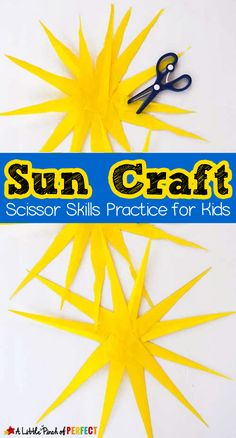 Paper Sun Craft for
