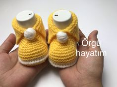 Knitted Booties, Knitted Slippers, Baby Blanket Crochet, Baby Knitting Patterns, Baby Shoes, Booty, Anne, Kids, Clothes