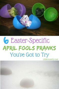>>>Cheap Sale OFF! >>>Visit>> Need some Easter-specific April Fools pranks to play on your kids? (Easter falls on April Fools Day this year!) Ive got you covered with these six fun ideas. Easy April Fools Pranks, Best April Fools, April Fools Day, Easy Pranks, Holiday Crafts, Holiday Fun, Holiday Ideas, Pranks For Kids, Work Pranks