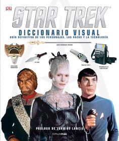 STAR TREK. DICCIONARIO VISUAL. - Esta impresionante guía visual trasladará al lector a la galaxia de Star Trek en un completo recorrido ilustrado que muestra las culturas de los aliados y de los enemigos de la humanidad. Desde los misterios de las armas klingon y los objetos favoritos de capitanes célebres de la Flota Estelar, hasta la historia de la U.S.S. Enterprise? y los secretos de la temible tecnología borg, esta enciclopedia...