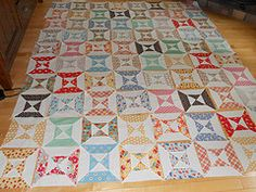 love double hourglass-I need to finish my double hourglass quilt