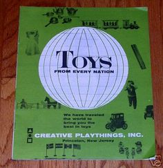 REFERENCE LIBRARY: creative playthings 1962 catalog