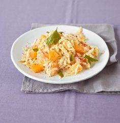 Rezept: Pastinaken-Apfel-Rohkost Vegetarian Recepies, Le Croissant, Salad Recipes, Healthy Recipes, Healthy Food, 5 2 Diet, Cravings, Cabbage, Salads