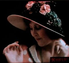 A still from the earliest colour feature: Kodachrome color motion test film, 1922.